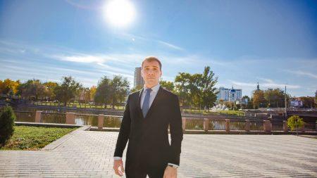 Лідер «Перспективи міста» Стрижаков звернувся до жителів Кропивницького. ВІДЕО