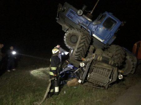 У Новій Празі зіткнулися два трактора, один із водіїв – у лікарні. ФОТО