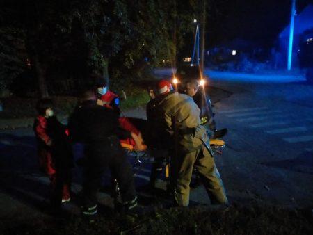 У Добровеличківці деблокували із понівеченої автівки двох постраждалих у ДТП. ФОТО