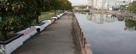Кропивничани самотужки взялися за облаштування Набережної. ФОТО