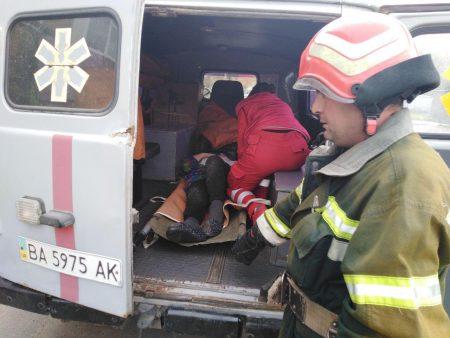 У Новоукраїнці Кіровоградської області жінка отруїлася чадним газом. ФОТО