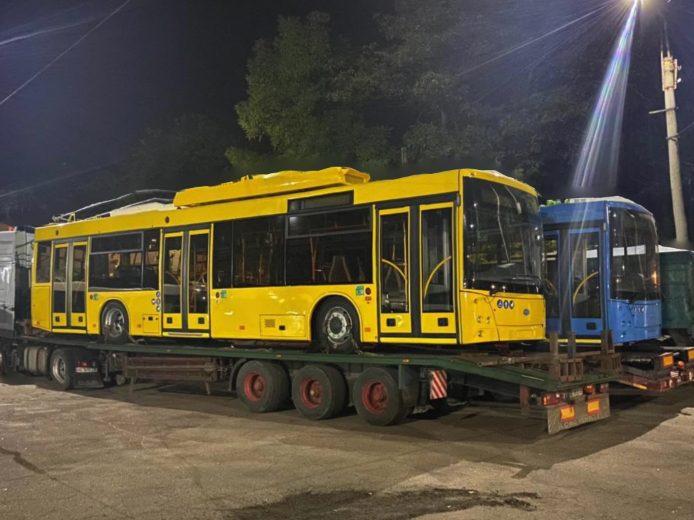 Без Купюр Перша партія нових тролейбусів забезпечуватиме сполучення селища Нового з Кропивницьким Життя  тролейбуси новини Кропивницький 2020 рік