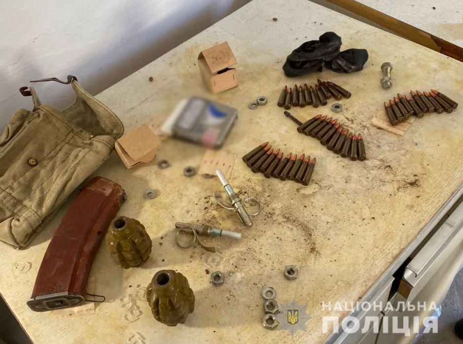 Без Купюр У гаражі жителя Кропивницького знайшли гранати та інші боєприпаси. ФОТО Кримінал  поліція новини Кропивницький Кіровоградщина боєприпаси