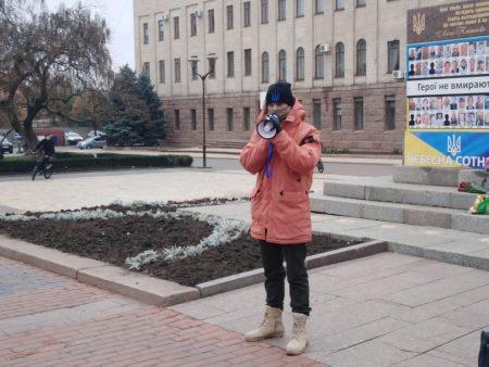 Кропивницький: поліція склала протокол на організатора акції до річниці Революції гідності