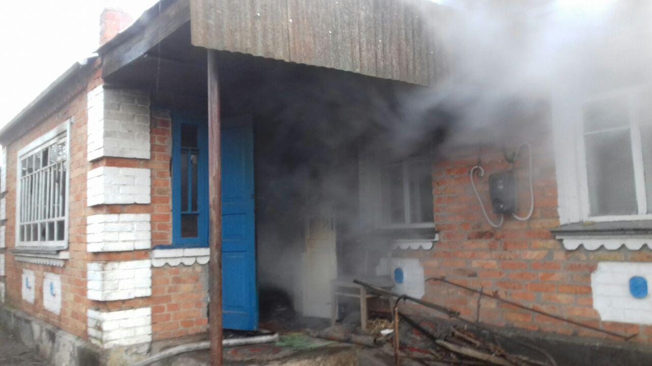 Без Купюр На Кіровоградщині на місці пожежі виявили тіло бабусі Події  пожежа новини Кіровоградщина