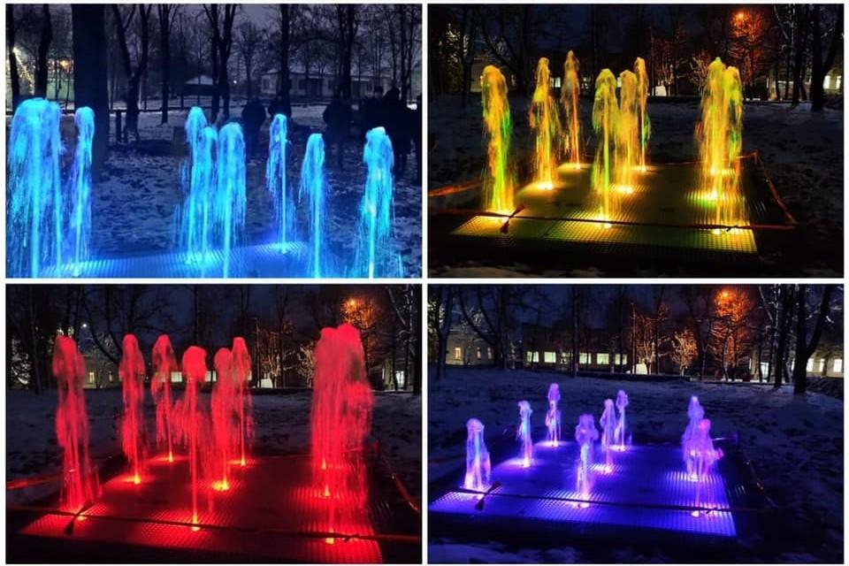 Без Купюр Кіровоградщина: в Новоукраїнці з'явилися фонтани. ФОТО Події  фонтани новини Кіровоградщина