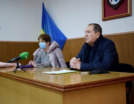 Андрій Райкович представив новенцям призначену міськрадою Кропивницького старосту