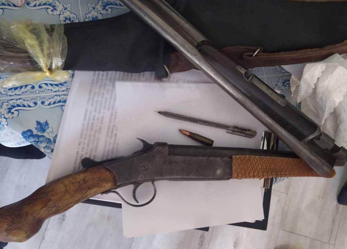 Без Купюр Поліцейські вилучили у жителя області зброю та боєприпаси Кримінал  Кіровоградщина вилучили зброю