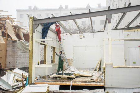 В обласній лікарні триває будівництво відділення екстреної медичної допомоги