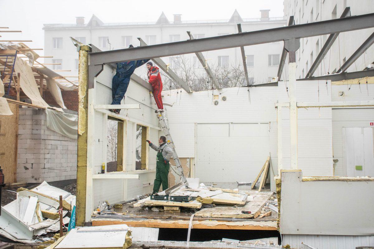 Без Купюр В обласній лікарні триває будівництво відділення екстреної медичної допомоги Здоров'я  обласна лікарня новини Кіровоградщина