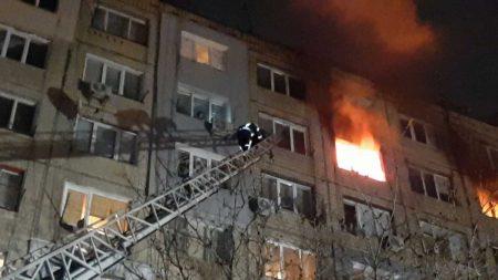 Пожежа в кропивницькому гуртожитку: 2 жінок та дитину госпіталізували