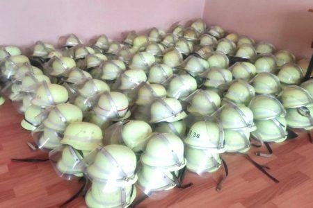 Рятувальники Кіровоградщини отримали шоломи від гуманітарної місії ЄС