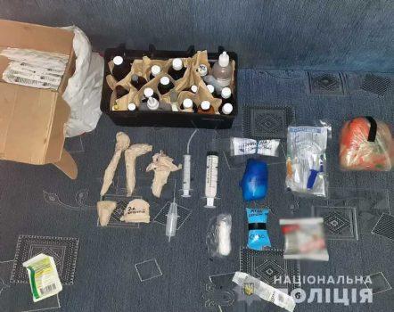 На Кіровоградщині поліцейські припинили діяльність нарколабораторії. ФОТО