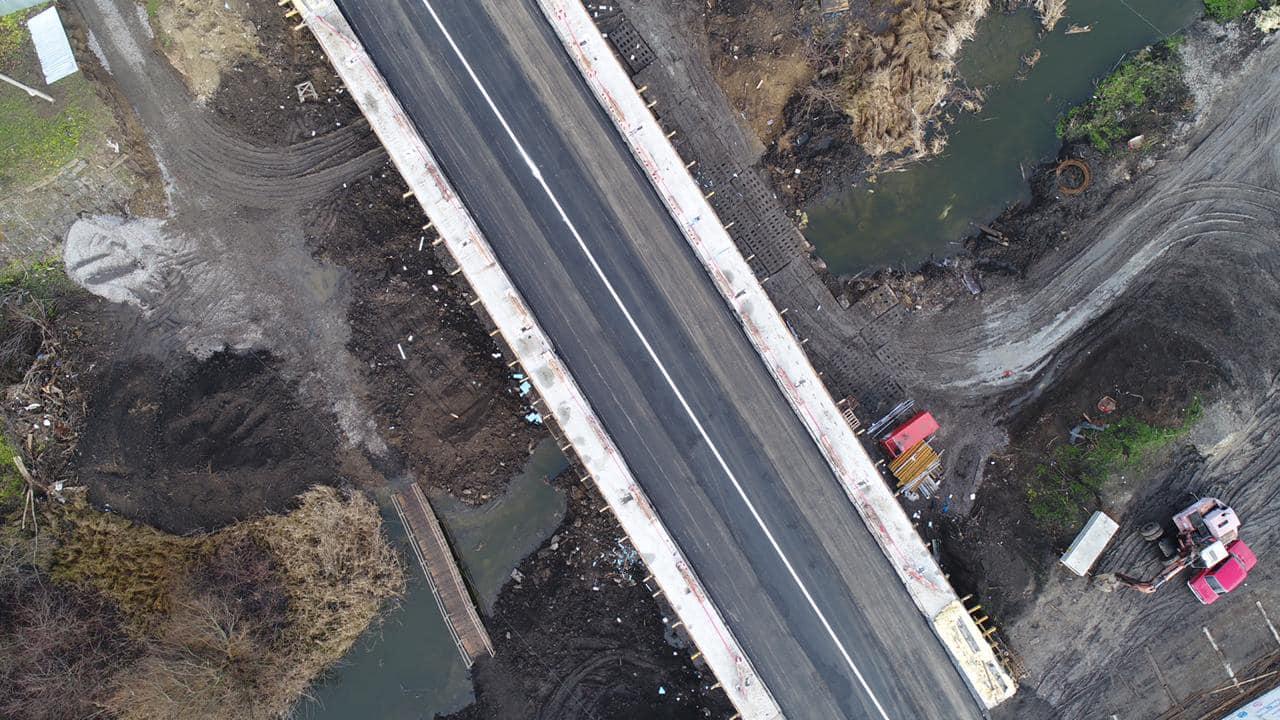 Без Купюр Міст на об'їзній дорозі  Кропивницького відкрили для проїзду. ФОТО За кермом  служба автомобільних доріг новини міст Кропивницький Кіровоградщина