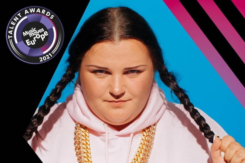 Українська реперка, родом із Кіровоградщини, отримала престижну європейську нагороду