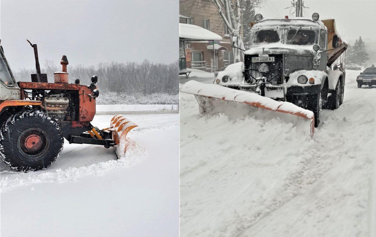 Дорогами Кіровоградщини можна проїхати, але дорожники ще працюють Фото 2