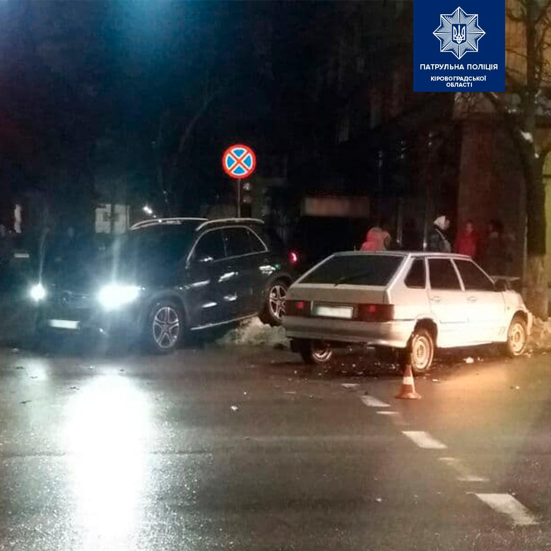 П'яний водій спричинив ДТП в центрі Кропивницького