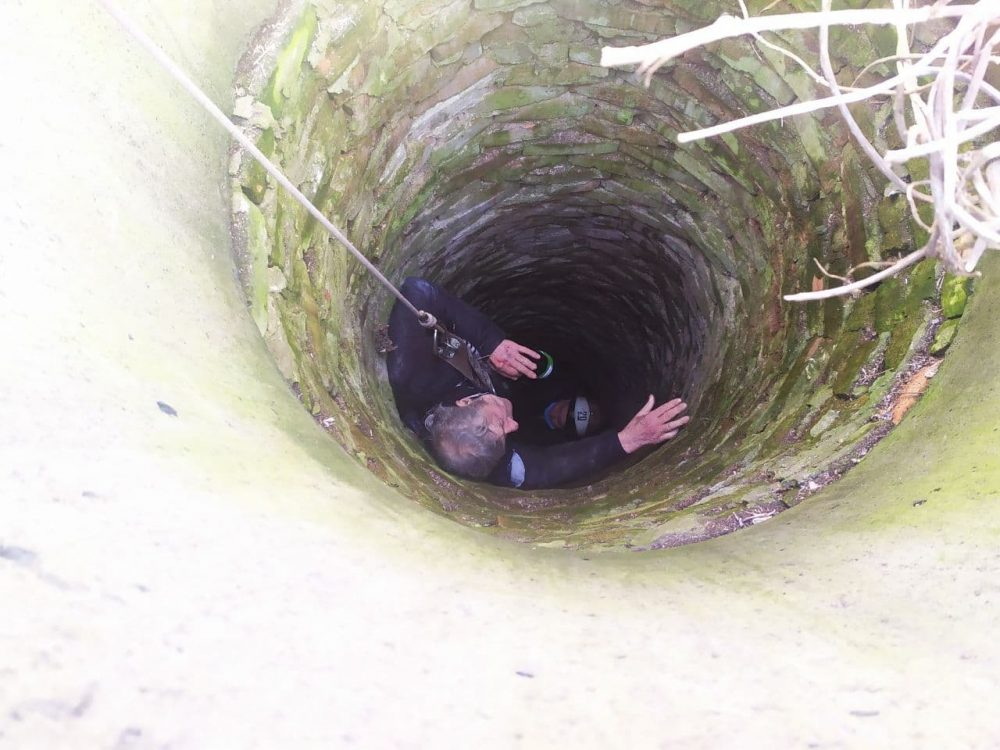 Без Купюр У Долинській чоловік упав до колодязя глибиною 10 метрів. ФОТО Події  новини Кіровоградщина Долинська 2021 Квітень