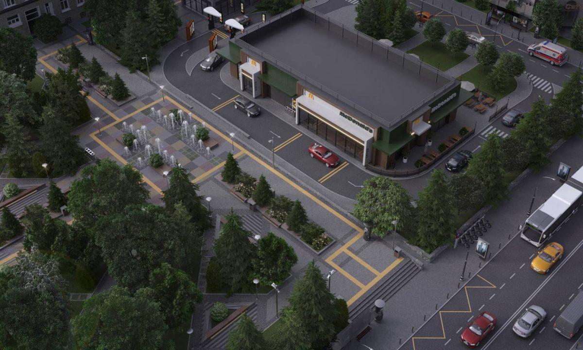 Без Купюр МакДональдз анонсував, де будуватиме свій ресторан у Кропивницькому. ФОТО Бізнес Головне  новини МакДональдз Кропивницький Кіровоградщина 2021 Квітень