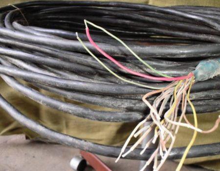 У Світловодську чоловік украв 1000 метрів телефонного кабелю