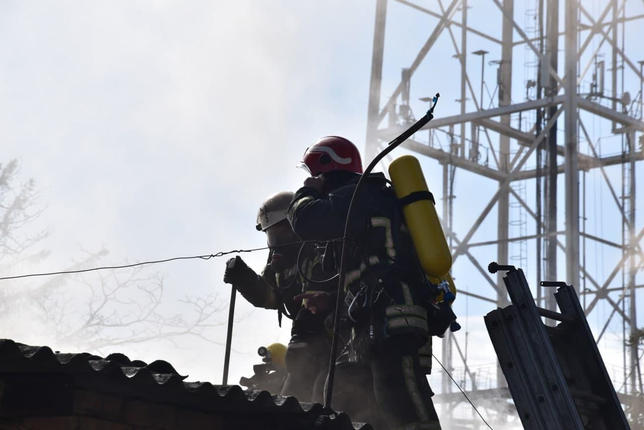 Без Купюр У Кропивницькому сталася пожежа на поліграфічному підприємстві. ФОТО Події  новини Кропивницький Кіровоградщина 2021 Квітень
