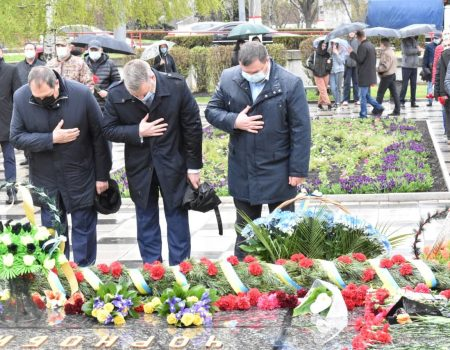 35-а річниця Чорнобильської катастрофи. Кропивницький пам'ятає. ФОТО. ВІДЕО