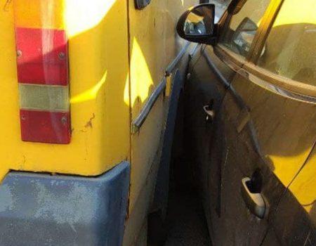 У Кропивницькому водій скоїв ДТП з автоцистерною. ФОТО
