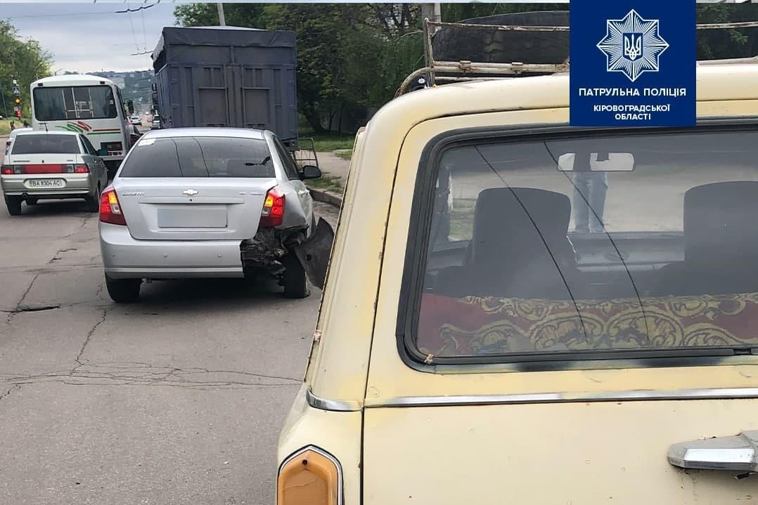 Без Купюр Зранку в Кропивницькому сталося дві ДТП. ФОТО За кермом  новини Кропивницький Кіровоградщина ДТП 2021 рік
