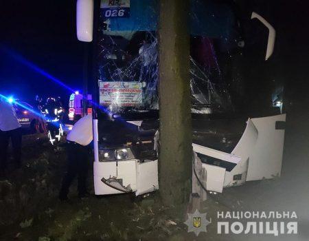 Житель Кіровоградщини постраждав у ДТП, в яку потрапив міжнародний автобус. ФОТО