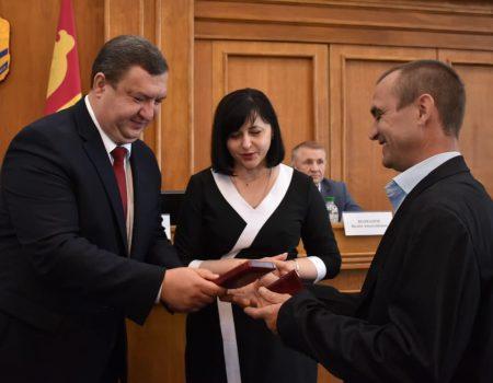 Нагородили представників бізнесу, соціальної і транспортної сфер та громадських діячів
