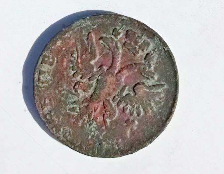 Під час охоронних розкопок фортеці в Кропивницькому знайшли монету часів Петра І
