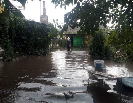 На Кіровоградщині град пошкодив городину, через дощі – підтопило будинки. ФОТО
