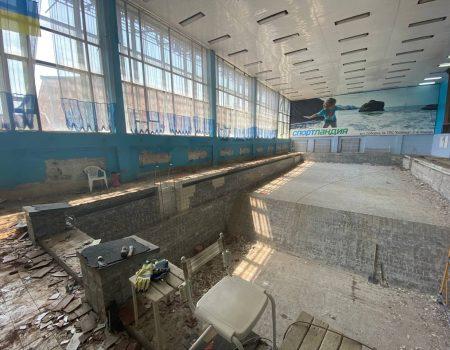 """У Кропивницькому реконструюють басейн спортшколи """"Надія"""""""