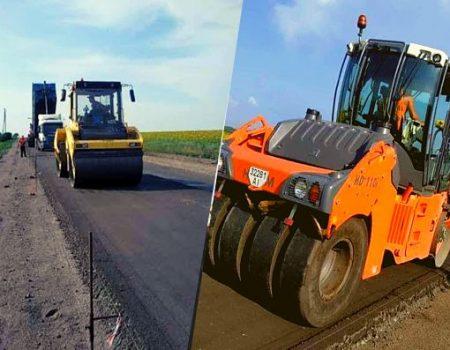 На Кіровоградщині на дорозі Єдності розпочали влаштовувати конструктивний шар