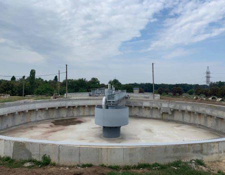 У Кропивницькому завершують реконструкцію першої черги каналізаційних очисних споруд