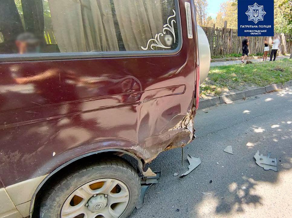 Без Купюр У Кропивницькому перекинулася автівка. ФОТО За кермом  новини Кропивницький Кіровоградщина 2021 рік
