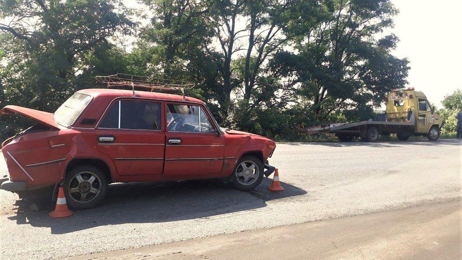 Без Купюр 4 авто потрапили в ДТП біля Кропивницького, постраждав один із пасажирів. ФОТО За кермом  новини Кропивницький Кіровоградщина ДТП 2021 рік