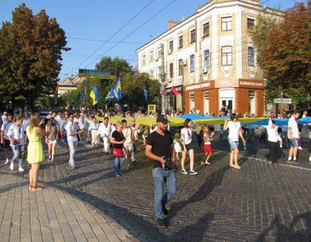 У Кропивницькому 12-ий рік поспіль відбудеться хода у вишиванках