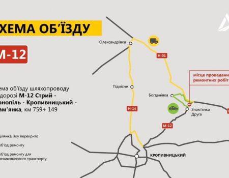 Міст у Знам'янці Другій на Кіровоградщині до грудня закрили для проїзду на реконструкцію