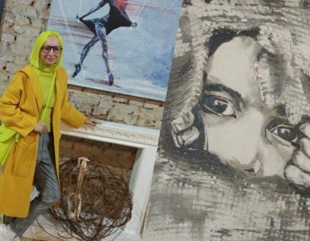 Крістіна Мигуль: Я ніби скульптор, ліплю картини, особливо, коли пишу не пензлем, а руками