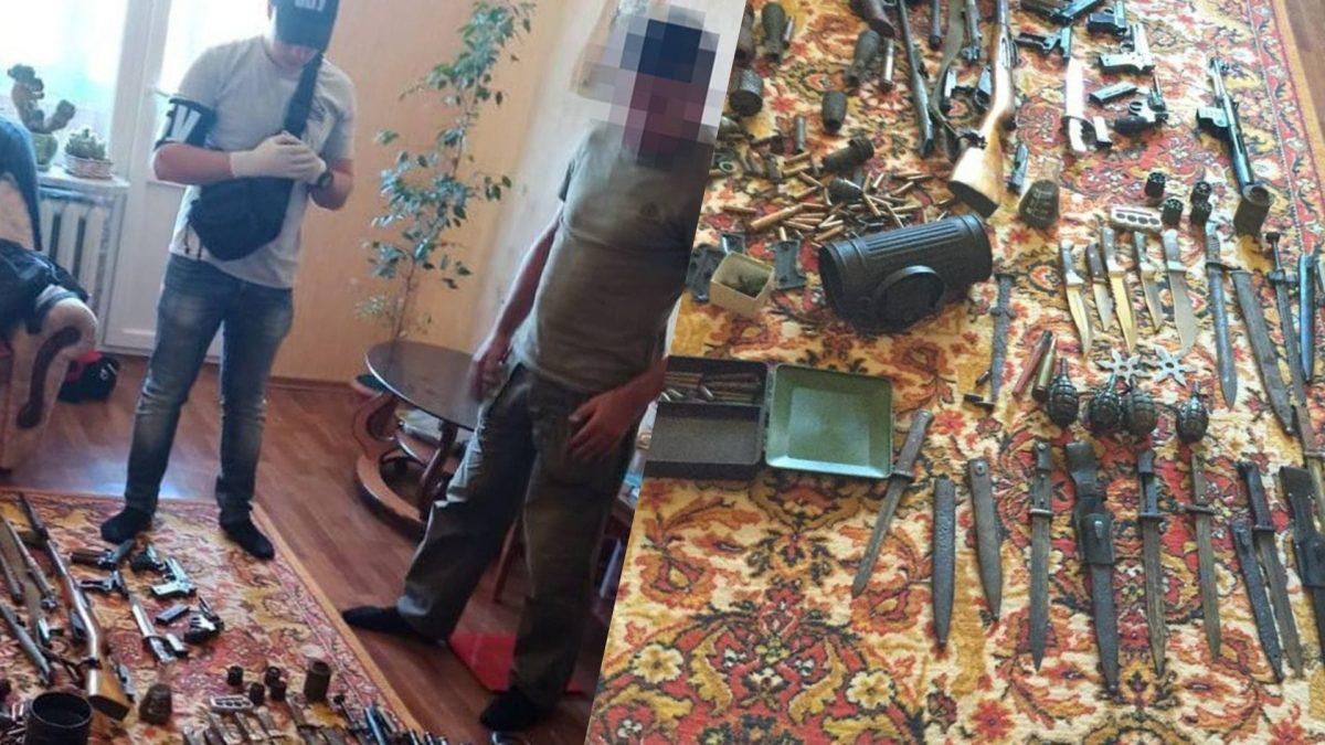 Без Купюр На Кіровоградщині СБУ викрила чорного археолога - продавав зброю часів ІІ Світової війни. ФОТО Кримінал  СБУ новини Кропивницький Кіровоградщина 2021 рік