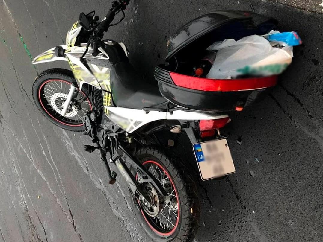 Без Купюр У Кропивницькому автівка зіткнулася з мотоциклом. ФОТО За кермом  новини Кіровоградщина 2021 рік 2021 Вересень