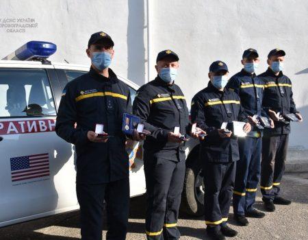 Сапери з Кіровоградщини отримали відзнаки за очищення території Луганщини від вибухівки. ФОТО